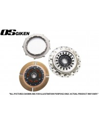 OS Giken SuperSingle Single Plate Clutch for Mazda FD3S RX-7 Steel Cover - Overhaul Kit B