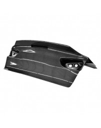 VIS Racing Carbon Fiber Trunk Demon Style for Mitsubishi EVO 10 4DR 08-15