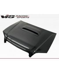 VIS Racing Carbon Fiber Hood STI Style for Subaru Legacy 4DR 00-04