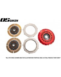 OS Giken STR Twin Plate for Mitsubishi CP9A Lancer Evo 4-9 - Overhaul Kit B