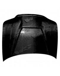 VIS Racing Carbon Fiber Hood Invader Style for AUDI A4 4DR 02-05