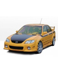 VIS Racing 2001-2003 Mazda Protege Mps 4Pc W/9Pc Extreme Fender Flares
