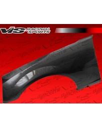 VIS Racing 2010-2013 Chevrolet Camaro Oem Style Carbon Fiber Front Fenders Pair