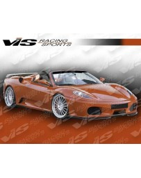 VIS Racing 2005-2009 Ferrari F430 Euro Tech Front Lip Add-On