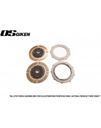 OS Giken TS Twin Plate Clutch for Toyota AE92/AE101 Corolla - Overhaul Kit A