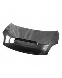 VIS Racing Carbon Fiber Hood Techno R Style for Suzuki Swift 4DR 05-07