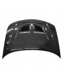 VIS Racing Carbon Fiber Hood EVO Style for Mazda Protege 4DR 01-03