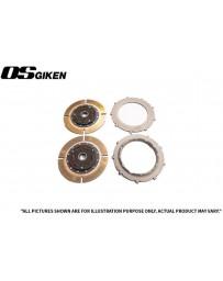OS Giken TR Twin Plate Clutch for Subaru WRX STi (GDB/GRB) - Overhaul Kit A