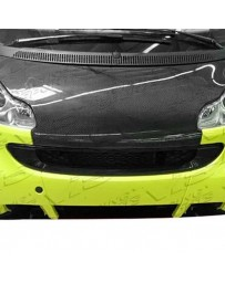 VIS Racing Carbon Fiber Hood OEM Style for Smart Fortwo 2DR 08-14
