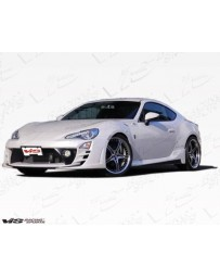 VIS Racing 2013-2015 Scion FRS 2dr Alfa Side Skirts