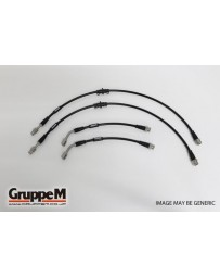 GruppeM ALFA ROMEO 147 2.0 TWIN SPARK 2001 - 2011 STAINLESS STEEL FITTING (BH-8001S) FRONT & REAR SET