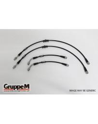 GruppeM ALFA ROMEO SPORT WAGON 156 3.2 GTA 2003 - 2004 STAINLESS STEEL FITTING (BH-8004S) FRONT & REAR SET