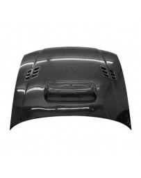 VIS Racing Carbon Fiber Hood STI Style for Subaru Impreza 2DR & 4DR 93-01