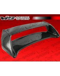 VIS Racing Carbon Fiber Spoiler STI Style for Subaru WRX 4DR 02-07