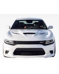 VIS Racing 2015-2016 Dodge Charger 4Dr SRT Style Front Bumper Polypropylene
