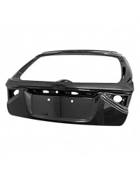 VIS Racing Carbon Fiber Trunk OEM Style for Subaru WRX Hatchback 08-14
