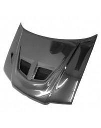 VIS Racing Carbon Fiber Hood EVO Style for Volkswagen Jetta 4DR 99-05