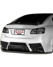 VIS Racing 2006-2011 Lexus Gs 300/430 4Dr JW Style Rear Bumper