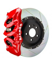 Toyota Supra GR A90 MK5 Brembo GT 380mmx34mm 2-Piece 6-Piston Flourescent Yellow Front Slotted Big Brake Kit