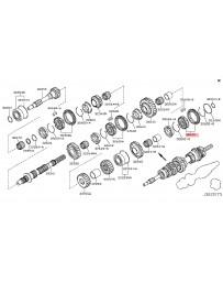 350z Nissan OEM Hub & Sleeve Set-Reverse