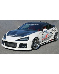 Charge Speed Type 3 Front Bumper with DRL (Japanese FRP) (No HeadLight Washer) Subaru BR-Z BR-Z ZC-6/ Toyota 86 ZN-6 13-20