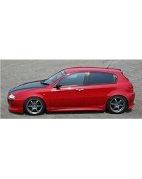 ChargeSpeed Spazio Nova Full Lip Kit(Japanese FRP) 5 Pieces Alfa Romeo 147 3/5 Dr 00-04