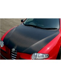 ChargeSpeed Spazio Nova OEM Carbon Hood (Japanese CFRP) Alfa Romeo 147 3/5 Dr 05-10