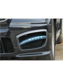 ChargeSpeed FORMS Front Bumper Carbon Side Ducts Cowls for FORMS Wide Body Kit (Japanese CFRP) PAIR BMW X5 E70 07-13