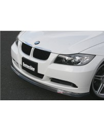 ChargeSpeed Bottom Line FRP Front Lip (Japanese FRP) BMW E90 3-Series 05-08