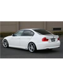 ChargeSpeed Bottom Line FRP Full Lip Kit (Japanese FRP) 5 PCS. CS2100FLF, CS2100SSF, CS2100RCF BMW E90 3-Series 05-08 Sedan