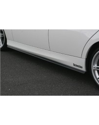 ChargeSpeed FRP Side Skirts (Japanese FRP) BMW E90 3-Series 05-12