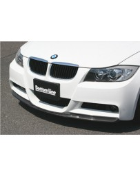 ChargeSpeed Bottom Line Carbon Front Lip (Japanese CFRP) BMW M-Sport E90 3-Series Sedan 05-08