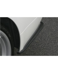 ChargeSpeed Bottom Line FRP Rear Caps (Japanese FRP) BMW M-Sport E90 3 Series 05-08