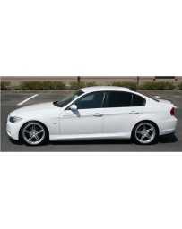 ChargeSpeed Bottom Line FRP Side Skirts (Japanese FRP) BMW M-Sport E90 3 Series 05-08