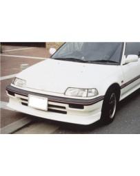 ChargeSpeed Front Spoiler (Japanese FRP) Honda Civic EF3 HB Zenki 88-89