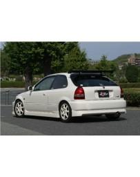 ChargeSpeed Full Lip Kit CS218FL, CS617SS, CS218RSH Honda Civic HB EK 99-00