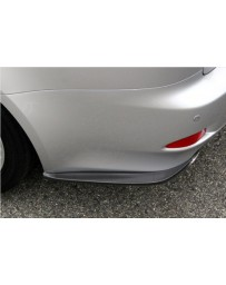 ChargeSpeed Bottom Line Rear Caps FRP (Japanese FRP) Pair Lexus IS250/IS350 06-12