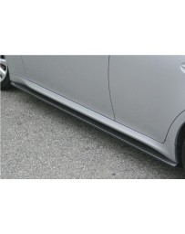 ChargeSpeed Bottom Line Side Skirts Carbon (Japanese CFRP) Pair Lexus IS250/IS350 06-12