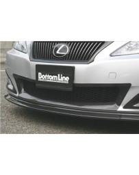 ChargeSpeed Bottom Line Front Bumper Center Cowl Carbon (Japanese CFRP) Lexus IS250/IS350 09-10