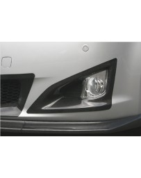 ChargeSpeed Bottom Line Front Bumper Side Cowl Carbon (Japanese CFRP) Pair Lexus IS250/IS350 09-10