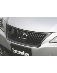 ChargeSpeed Bottom Line Front Grill Cowl Carbon (Japanese CFRP) Lexus IS250/ IS350 09-12