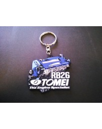 Tomei SILICONE KEYCHAN RB26 GOODS