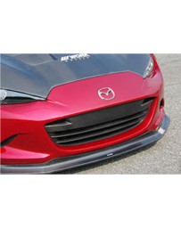 ChargeSpeed Front Grill Cowl Carbon (Japanese CFRP) Mazda Miata ND 15-19