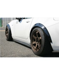 ChargeSpeed Front & Rear Over Fenders Set Carbon (Japanese CFRP) 4 Pieces Mazda Miata MX5 ND 15-18
