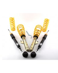 350z ST Suspensions ST X Galvanized Steel Adjustable Coilovers with Fixed Dampening