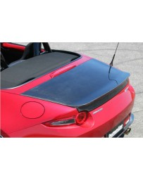 ChargeSpeed Carbon Aero Trunk (Japanese CFRP) Mazda Miata MX5 ND 15-19