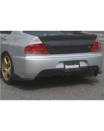 ChargeSpeed Carbon Under Diffuser For EVO 9 Rear Bumper (Japanese CFRP) Mitsubishi Lancer EVO IX 06-07
