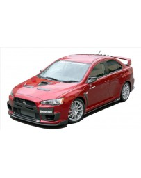 ChargeSpeed Bottom Line Full Lip Kit (5PCS) FRP CS427FL2F, CS428SS1F, CS427RC1F Mitsubishi Lancer Evo X 11-16