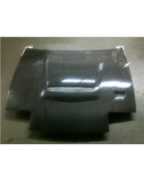 ChargeSpeed Vented FRP Hood (Japanese FRP) Nissan 240SX RPS-13 Flip Eye 89-94