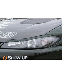 ChargeSpeed Eye Brows (Japanese FRP) Nissan Silvia S15 99-05